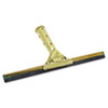"Golden Clip Brass Squeegee Complete, 12"" Wide"
