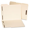 Deluxe Reinforced Top Tab Folders with Two Fasteners, 1/3-Cut Tabs, Letter Size, Manila, 50/Box