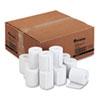 "Impact & Inkjet Printing Bond Paper Rolls, 0.5"" Core, 3"" x 165 ft, White, 50/Carton"