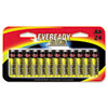 Gold Alkaline Batteries, AA, 24 Batteries/Pack - EVEA91BP24HT