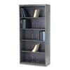 600 Series open shelf files, jumbo open shelving, 5 fixed shelves, charcoal HONJ625CNS