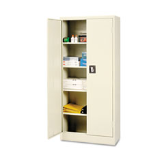 Alera(R) Space Saver Assembled Storage Cabinet