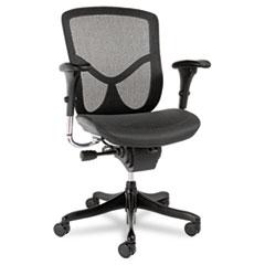 Alera(R) EQ Series Ergonomic Multifunction Mid-Back Mesh Chair