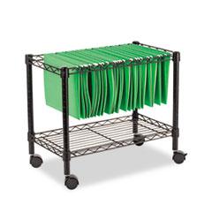 Alera(R) Rolling File Cart