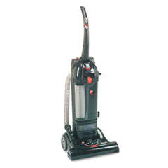 Commercial Bagless Hush Upright Vacuum, 15lb, Black