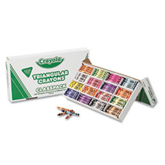 Crayola Triangular Crayons Class Size