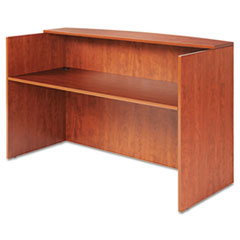 Alera(R) Valencia(TM) Series Reception Desk with Transaction Counter