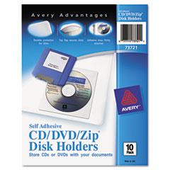 Avery(R) Self-Adhesive Media Pockets