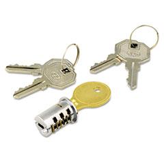 Alera(R) Lock Core for Metal Pedestals