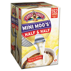 Mini-Moo's® Half & Half, 0.3 oz. Single-Serve Cups, 192/CS