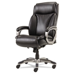 Alera(R) Veon Series Executive High-Back Leather Chair