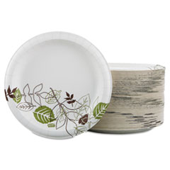 "Pathways Soak Prooof Shield Heavy Weight Paper Plates, 8 1/2"", 125/Pack"
