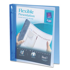 Avery(R) Flexible View Binder with Round Rings