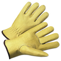 Anchor Brand(R) 4000 Series Pigskin Leather Driver Gloves 4800M