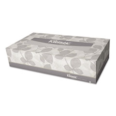 White Facial Tissue, 2-Ply, White, Pop-Up Box, 125/Box