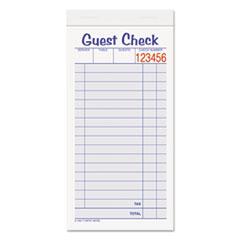 Guest Check Template  Guest Check Template