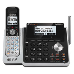 AT&T(R) TL88102 Cordless Two-Line Digital Answering System