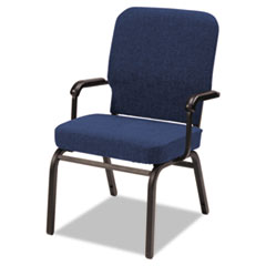 Alera(R) Oversize Stack Chair with Fixed Padded Arms