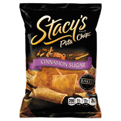 Pita Chips, 1.5 oz Bag, Cinnamon Sugar, 24/Case