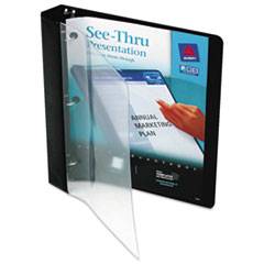 Avery(R) See-Thru(TM) View Binder with Round Rings