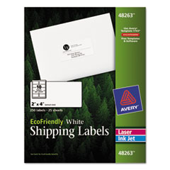 Avery(R) EcoFriendly Mailing Labels