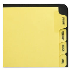 Avery(R) Preprinted Laminated Tab Dividers with Gold Reinforced Binding Edge