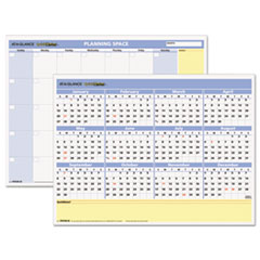 AT-A-GLANCE(R) QuickNotes(R) Mini Erasable Wall Planner