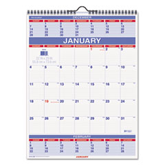 AT-A-GLANCE(R) Three-Month Wall Calendar