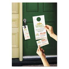 Avery(R) Door Hanger with Tear-Away Cards
