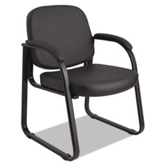Alera(R) Genaro Series Half-Back Sled Base Guest Chair