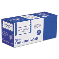 Avery(R) Dot Matrix Printer Mailing Labels