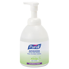 Green Certified Advanced Foaming Instant Hand Sanitizer Foam, 18 oz. Pump Bottle