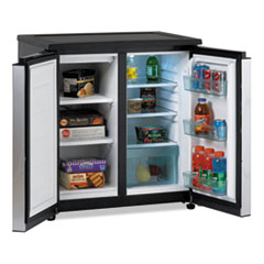 Avanti 5.5 Cu. Ft. Side by Side Refrigerator/Freezer