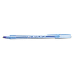 Round Stic Xtra Precision/Xtra Life Ballpoint, Blue Ink, 1mm, Medium, 60/BX