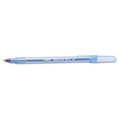 Round Stic Xtra Precision/Xtra Life Ballpoint, Blue Ink, 1mm, Medium, 60/BX