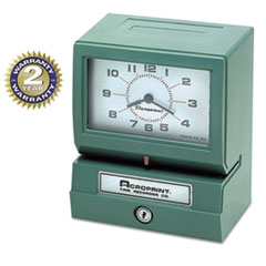 Acroprint(R) Heavy-Duty Time Recorders