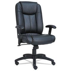 Alera(R) CC Executive High-Back Swivel/Tilt Leather Chair