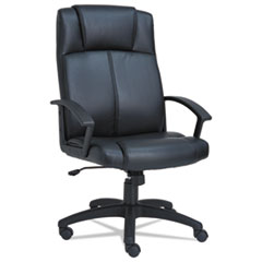Alera(R) CL High-Back Leather Chair