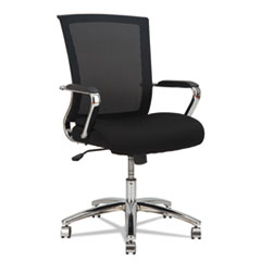 Alera(R) ENR Series Mid-Back Slim Profile Mesh Chair