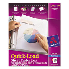 Avery(R) Quick-Load Heavyweight Sheet Protector