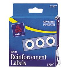 Avery(R) Binder Hole Reinforcements in Dispenser