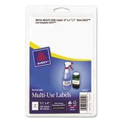 Avery(R) Removable Multi-Use Labels