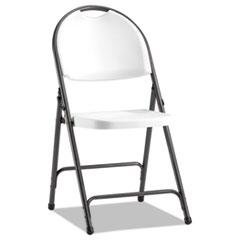 Alera(R) Molded Resin Folding Chair