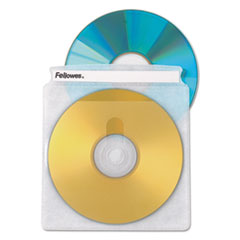 Fellowes(R) Double-Sided CD/DVD Sleeves