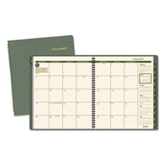 AT-A-GLANCE(R) Recycled Monthly Planner