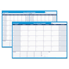 AT-A-GLANCE(R) 30/60-Day Undated Horizontal Erasable Wall Planner