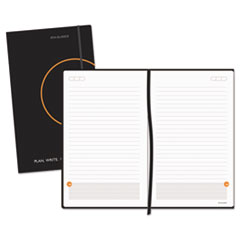 Plan. Write. Remember. Perfect-Bound Planning Notebook, 5 x 8 1/4, Black