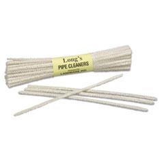 """9920002929946 Tobacco Pipe Cleaner, White, Wire/Cotton, 6"""" x 1"""", 24/Box"""