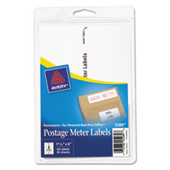 Avery(R) Postage Meter Labels for Personal Post Office(TM)