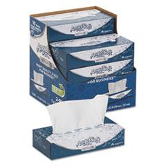 ps Ultra Facial Tissue, 2-Ply, White, 8 4/5 x 7 2/5, 125/Box, 10 Boxes/Carton